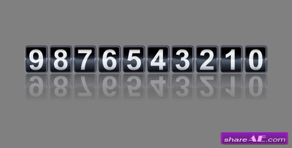 Videohive Analog Counter