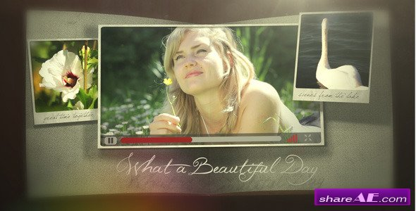 Videohive Photo Pop Out Book