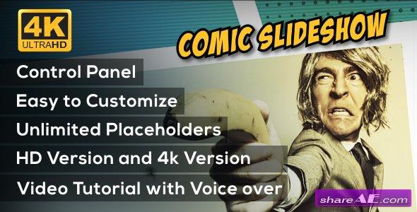 Videohive Comic Slideshow Opener
