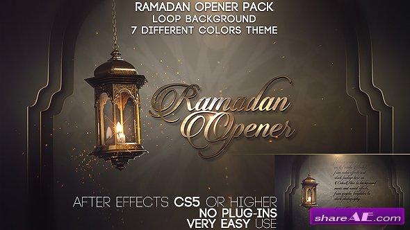 Videohive Ramadan Opener Pack