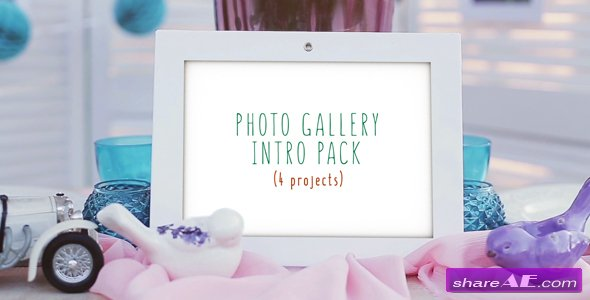 Videohive Photo Gallery Intro Pack
