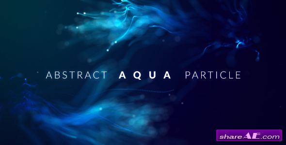 Videohive Abstract Aqua Particle