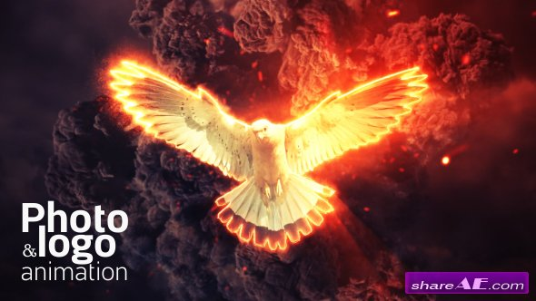 Videohive Fire Explosion Logo & Photo Animation
