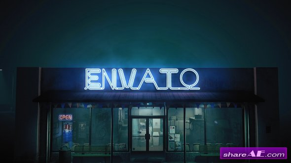 Videohive Epic Neon in The Street