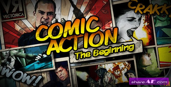 Videohive Comic Action - The Beginning