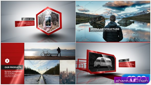 Videohive Corporate Profile Video