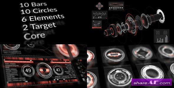 Videohive HUD