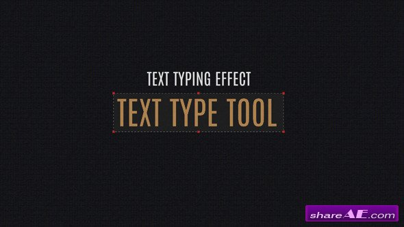Videohive Text Type Tool