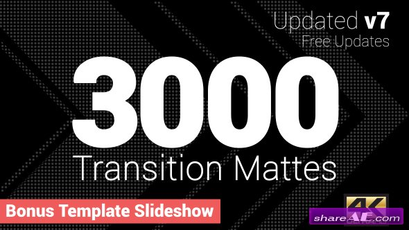 Videohive Ultimate Transition Mattes Pack v7