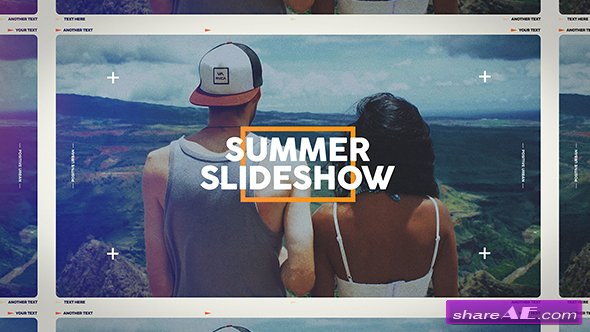 Videohive Summer Slideshow 19912266