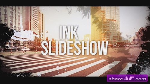 Ink Slideshow - After Effects Template (Motion Array)