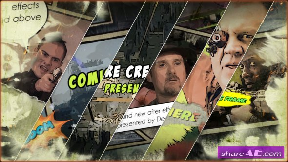 Videohive Action Comic 19839659