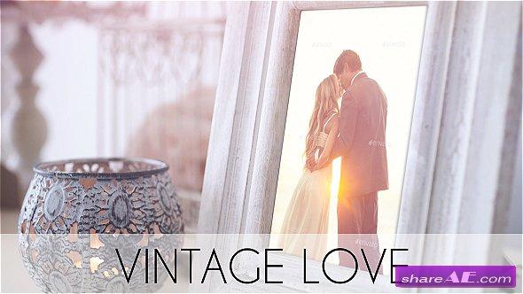 Videohive Vintage Love
