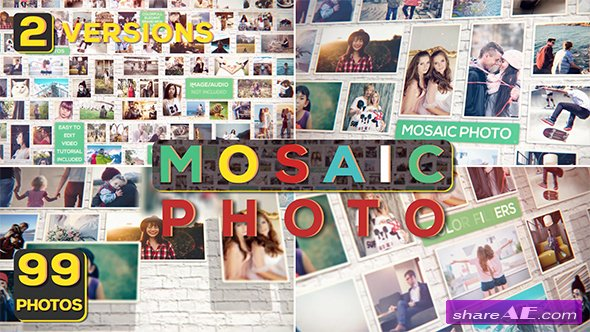 Videohive Mosaic Photo