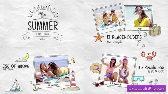Videohive Summer Holidays