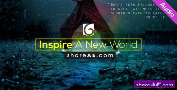 Inspire A New World (Audiojungle)