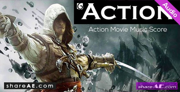 Action Movie Music Score (Audiojungle)