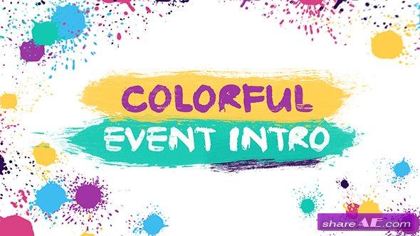 Videohive Colorful Event Intro