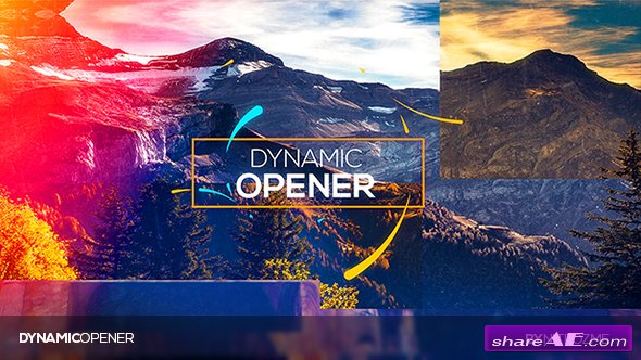 Videohive Dynamic Opener 19630513