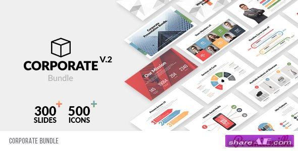 Videohive Corporate Bundle & Infographics