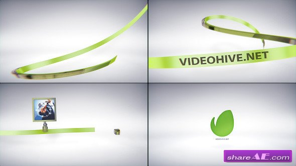 Videohive Taped Lines Opener