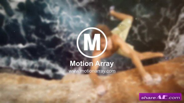 Modern Parallax Slideshow 35198 - After Effects Template (Motion Array)