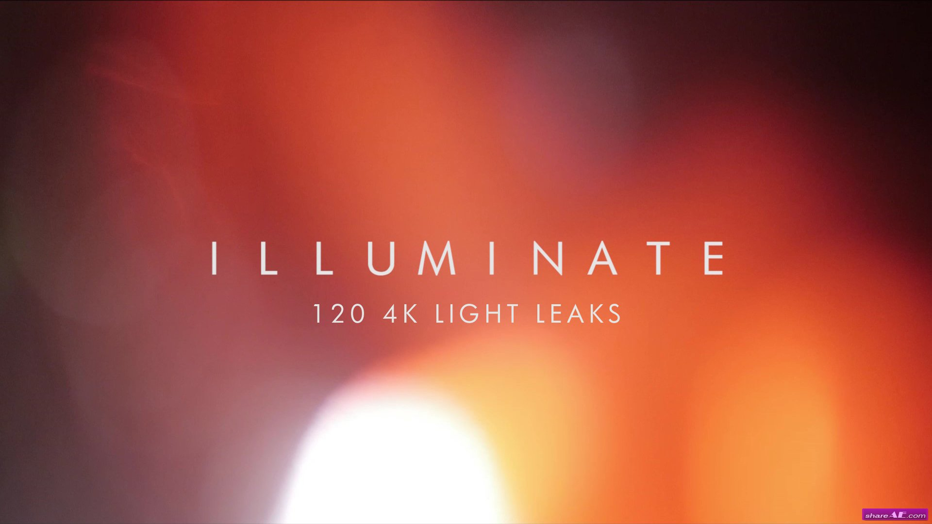 Illuminate 4k Light Leak - 120 Elements - Rocketstock ...