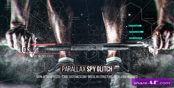 Videohive Parallax Spy Glitch