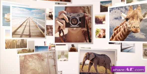 Videohive Mosaic Gallery 3D