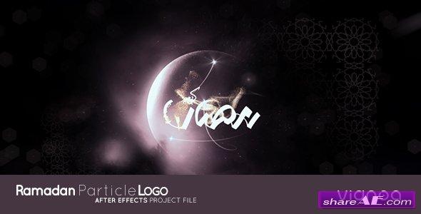 Videohive Ramadan Particle Logo