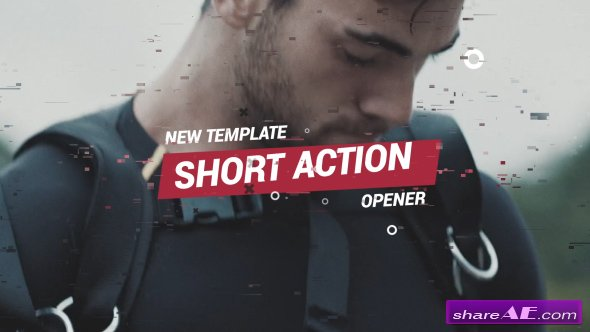 Videohive Short Action Opener