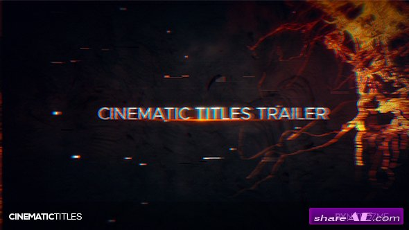 Videohive Trailer Titles
