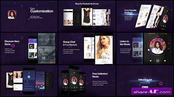 Videohive Cosmo l App Promo Kit
