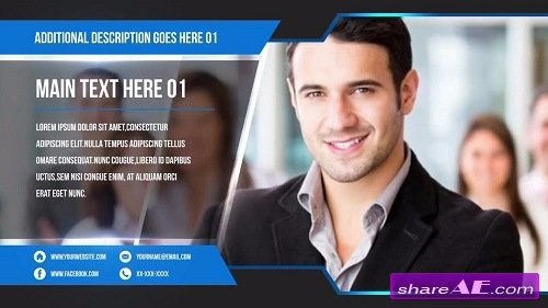 Free after effects templates after effects intro template corporate promo slideshow after effects template motion array wajeb Choice Image