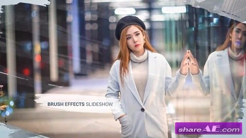 Brush Effects - Photo Slideshow - After Effects Template (Motion Array)
