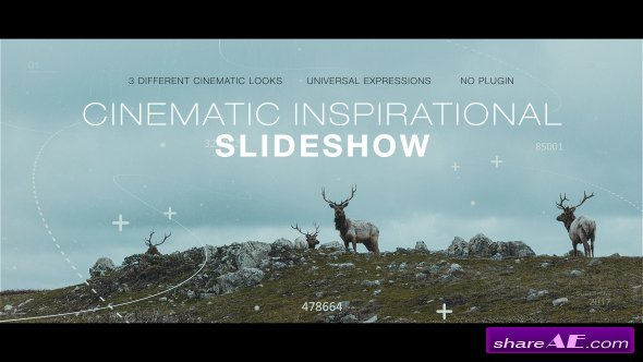 Videohive Cinematic Inspirational Slideshow | Opener