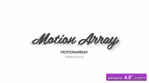 20 3D Clean Logo Pack - After Effects Template (Motion Array)