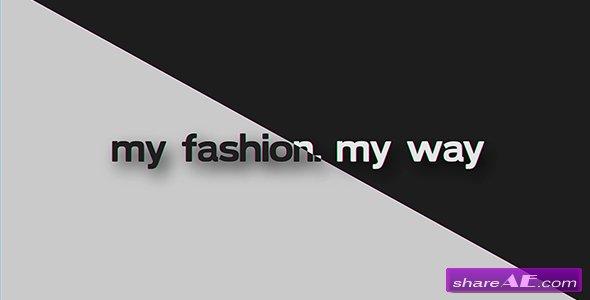 Videohive My Fashion My Way