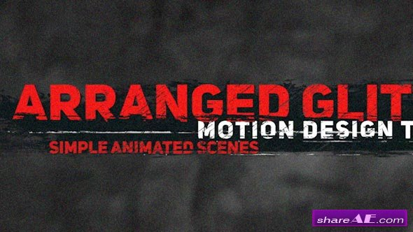 Videohive Dirty Glitch Titles 2