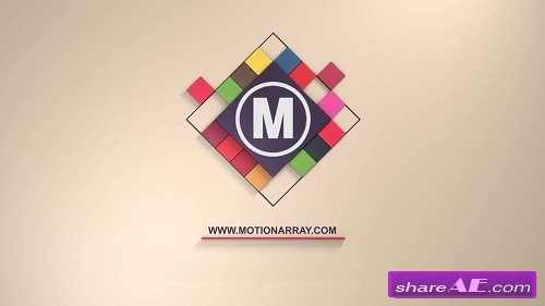 3D Cubes Logo - After Effects Template (Motion Array)