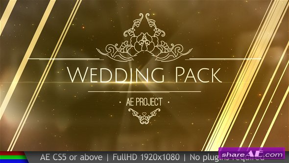 Videohive Wedding Pack