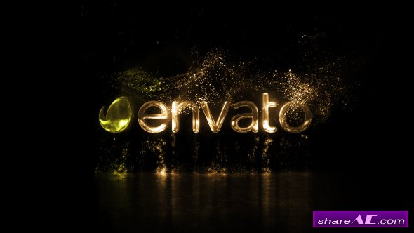 Videohive Particle Logo
