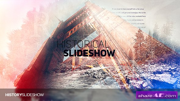 Videohive History Parallax