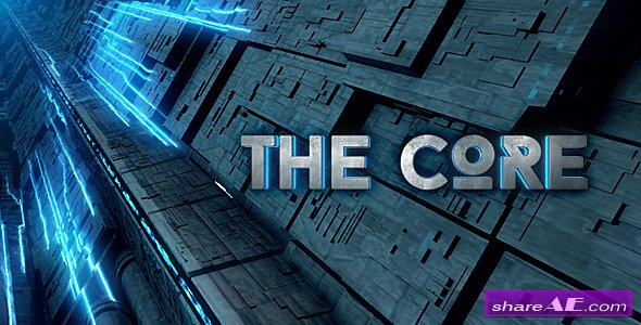 Videohive The Core - Cinematic Sci-Fi Logo Reveal