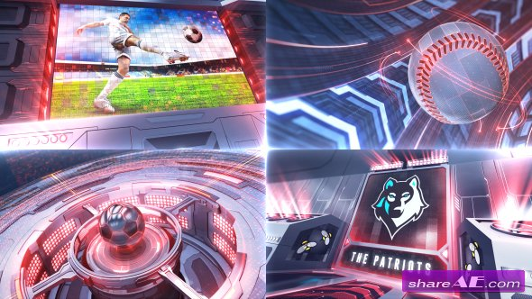 Videohive Ultimate Sports - Broadcast Package