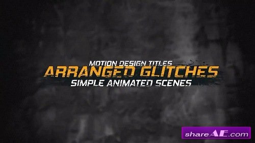 Dirty Titles 2 - After Effects Template (Motion Array)