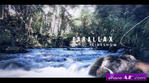 Circle Parallax Slideshow Opener - After Effects Template (Motion Array)