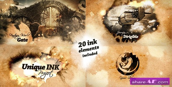Videohive Unique Ink