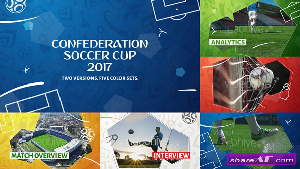 Videohive Confederation Football (Soccer) Cup Opener