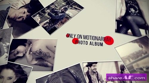 Photo Album - After Effects Template (Motion Array)